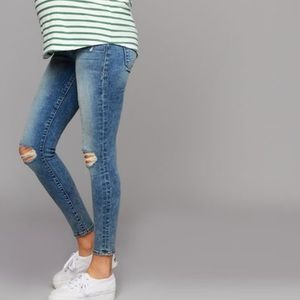 FRAME Secret Fit Belly Maternity Jeans